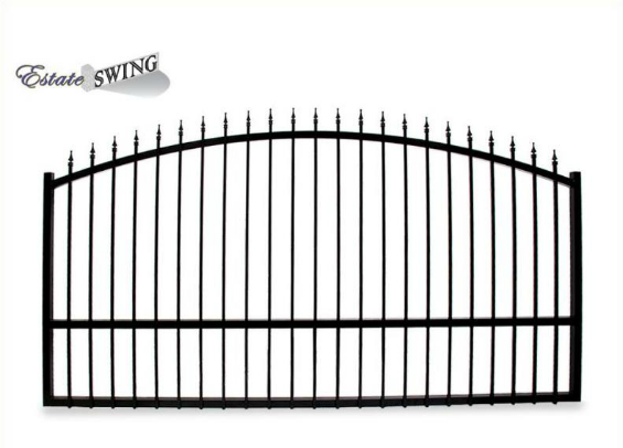 Estate Swing 12 Foot Long Single Driveway Gate Made in USA