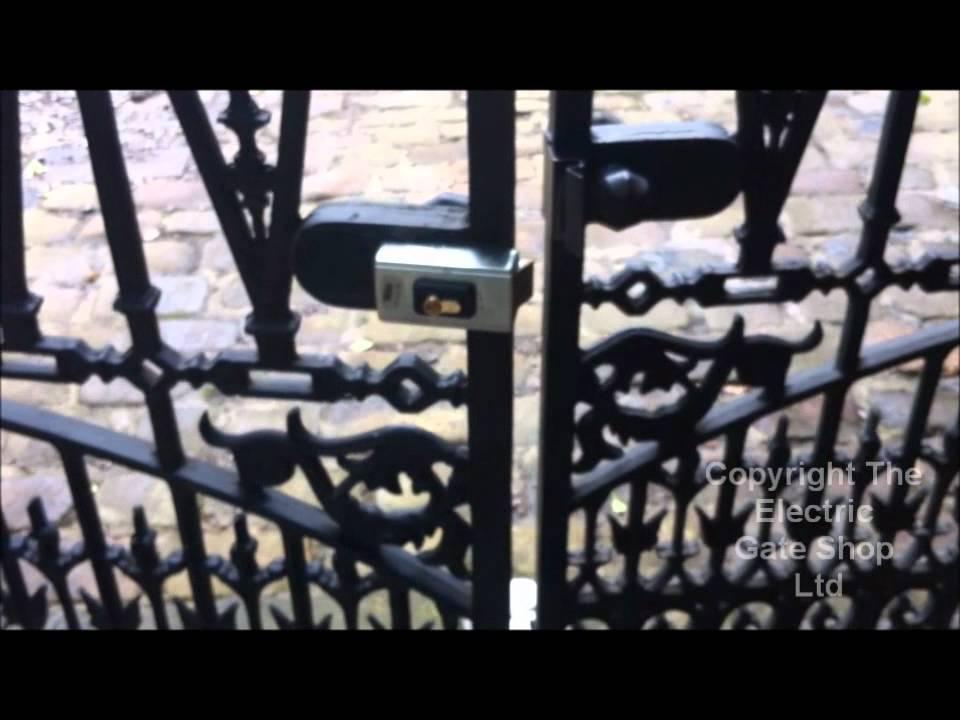 Electric-Gate-Lock-Double-Gate-Interlocking-Device