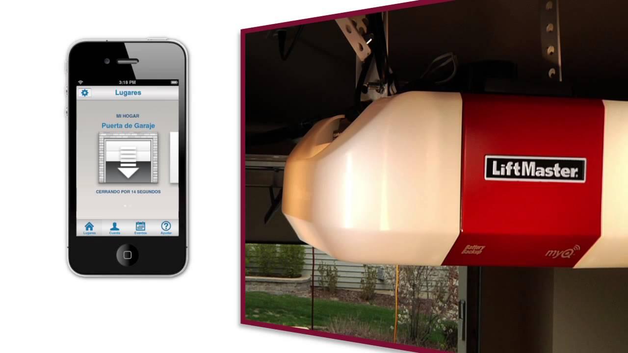 Video-de-aplicaciones-de-LiftMaster-MyQ
