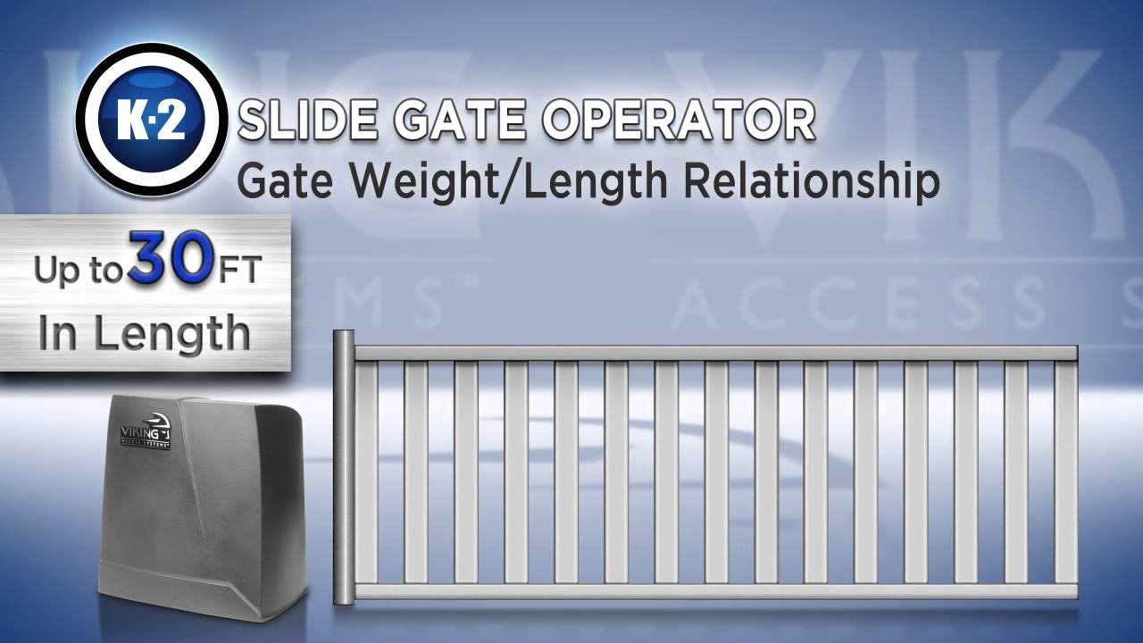 K-2-Slide-Gate-Operator