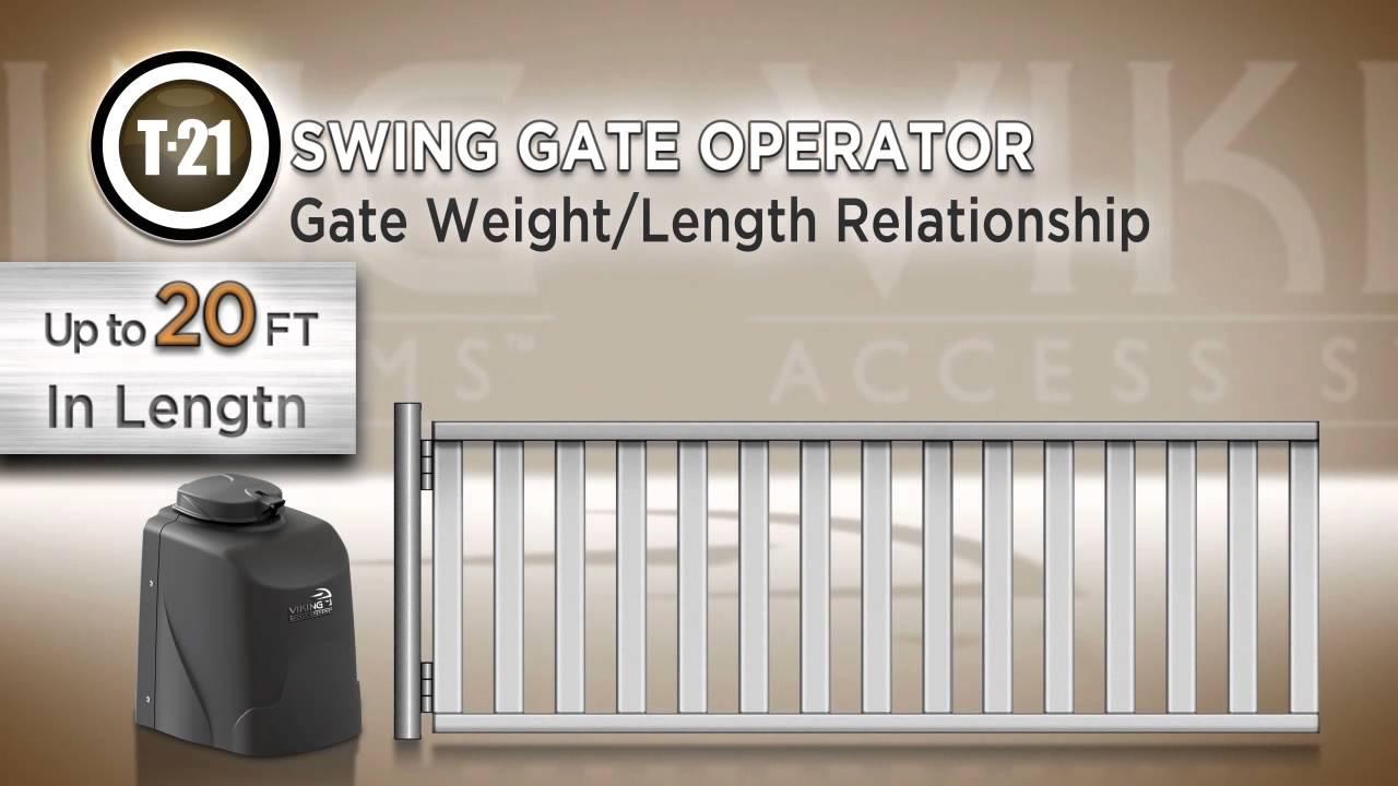 T-21-Swing-Gate-Operator