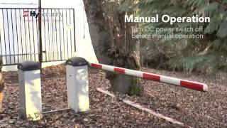 HySecurity-StrongArmPark-Manual-Operation