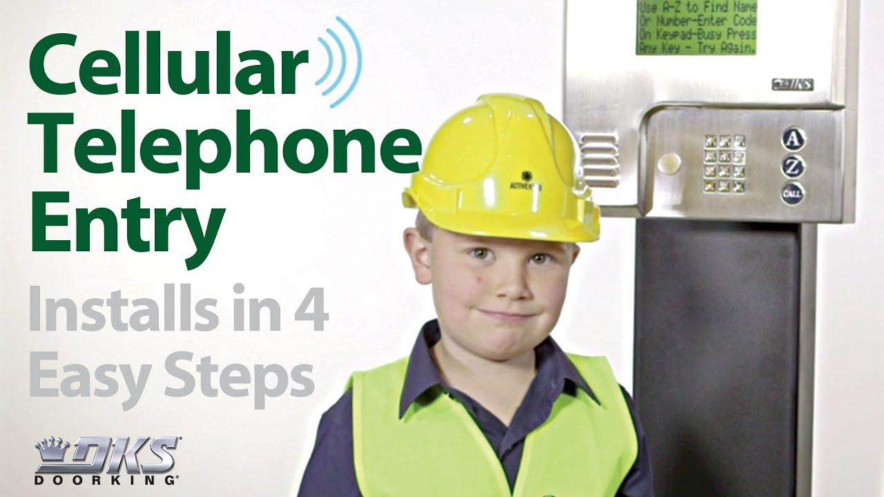 DKS-Cellular-Telephone-Entry-Installs-in-4-Easy-Steps