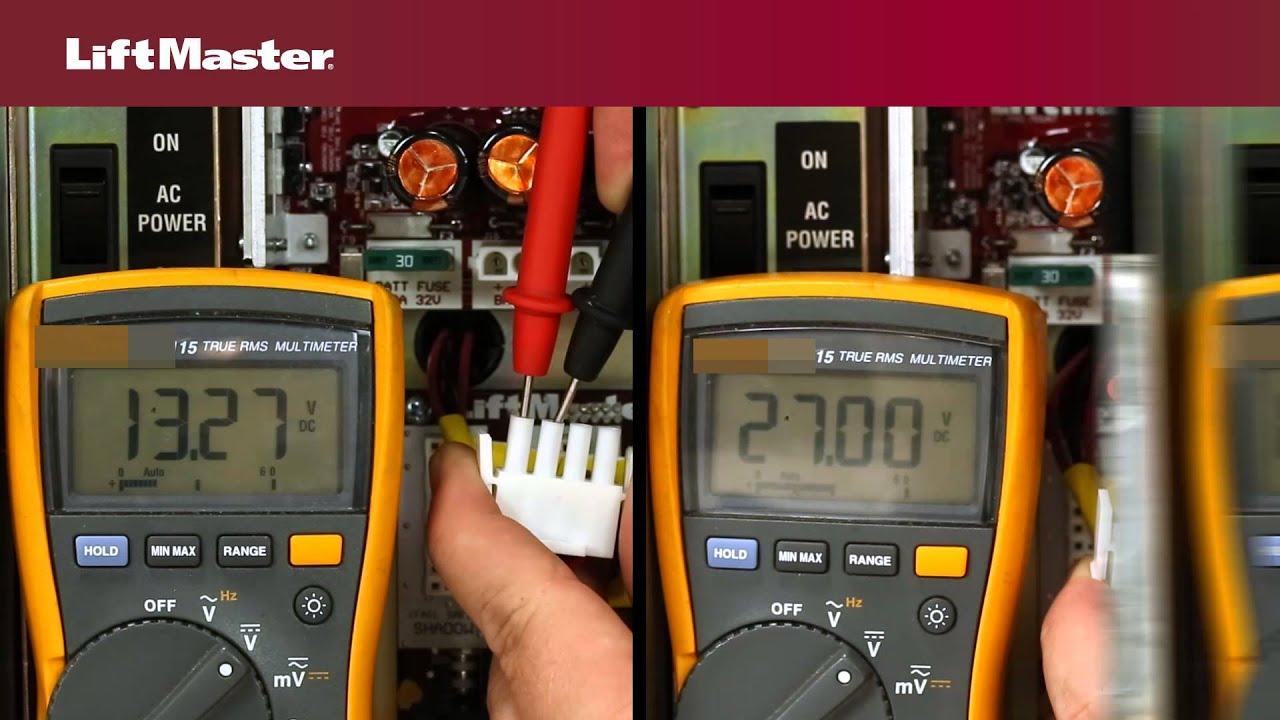 Error-Code-42-Gate-Operator-No-Battery-Detected-LiftMaster