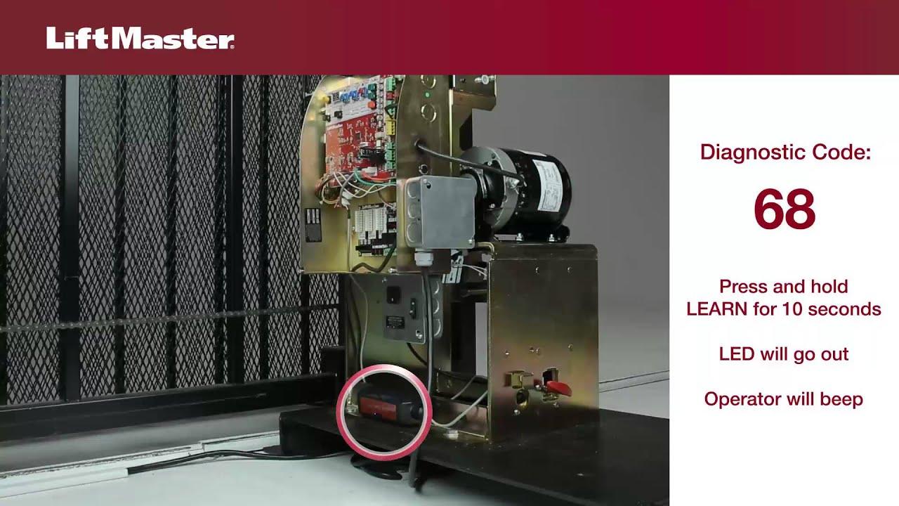 Error-Code-68-Electric-Gate-Troubleshooting-LiftMaster