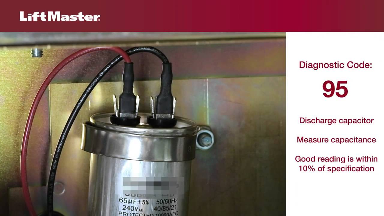 LiftMaster-Error-Code-95-Troubleshooting-AC-Gate-Operator-Motor