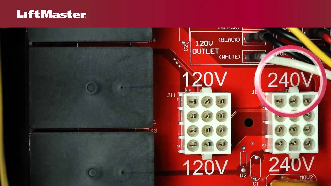 LiftMaster-How-to-Select-Voltage-on-Liftmaster-SL585-Gate-Operator