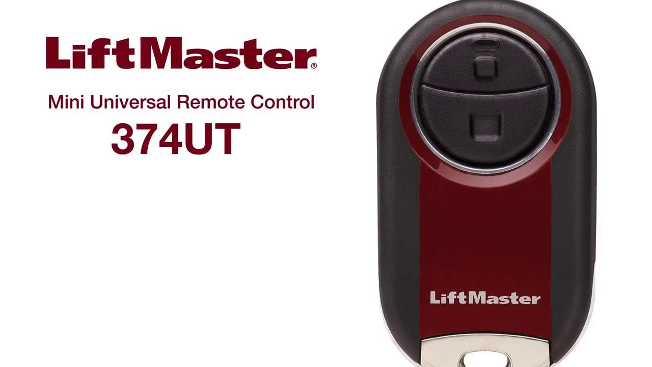 LiftMaster-How-to-Program-Mini-Universal-Remote-Model-374UT