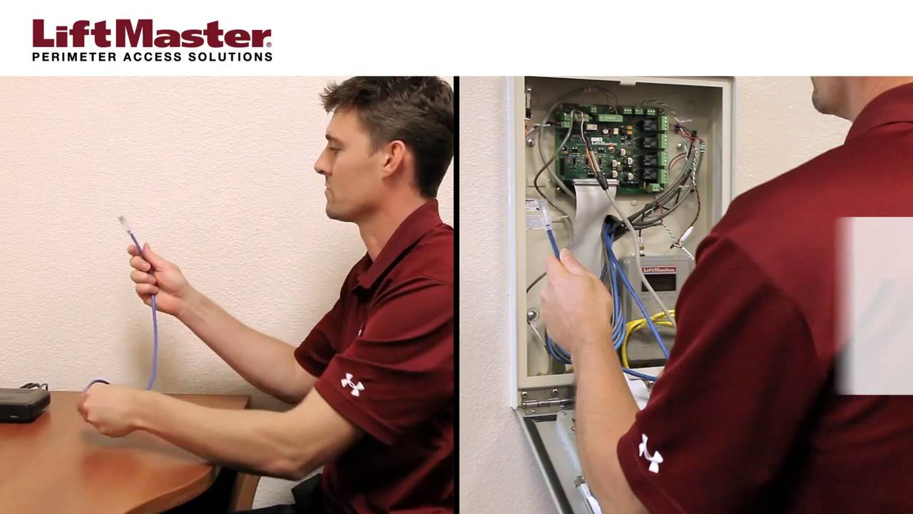 LiftMaster-How-to-Connect-an-IPAC-Telephone-Entry-System-to-a-DSL-Network