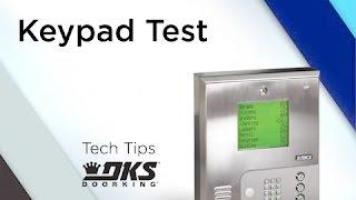 Keypad-Test