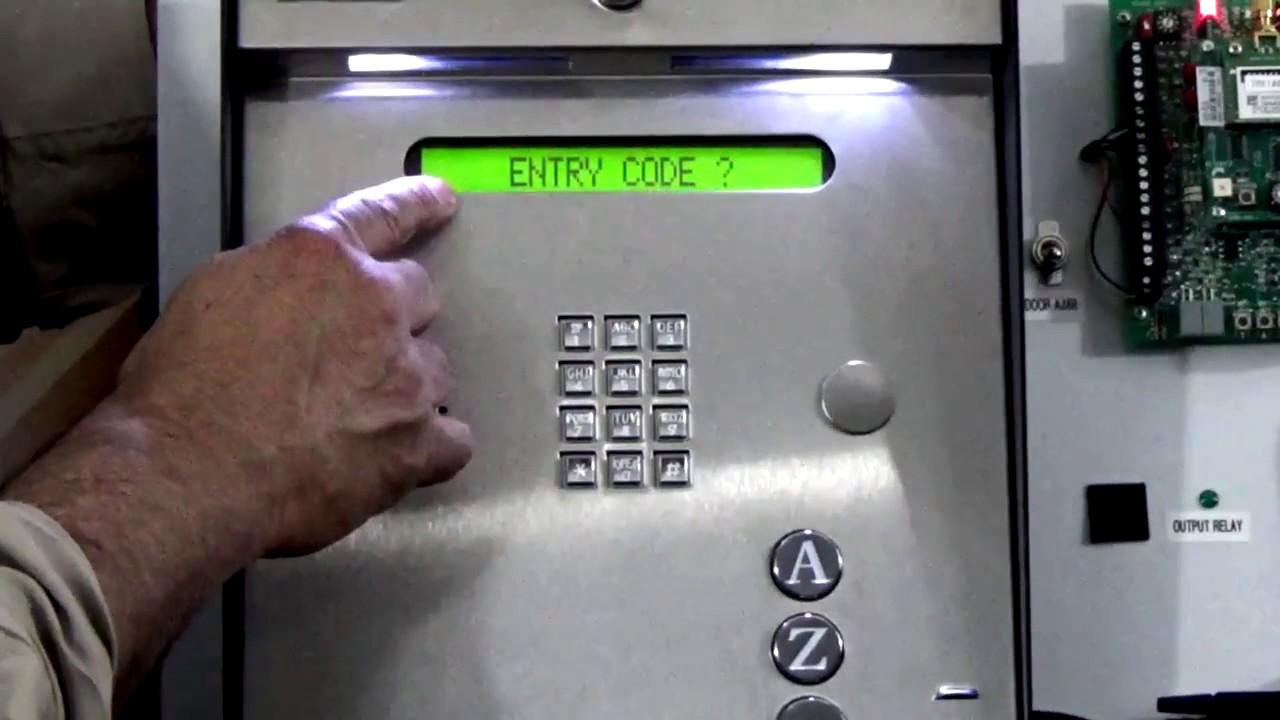 DoorKing-Entry-Code-Programming