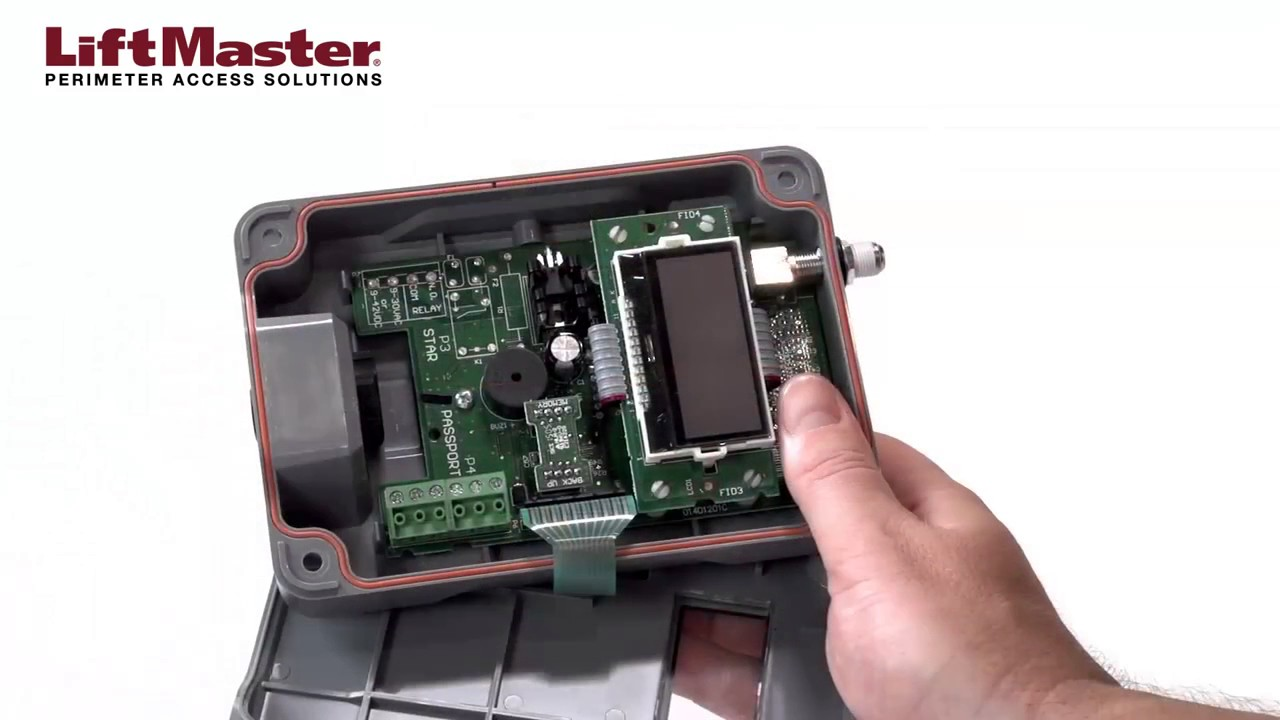 LiftMaster-How-to-Wire-the-PPWR-Passport-Receiver-to-an-Access-Control-Panel