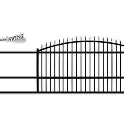 14 Foot Slide Gate opening