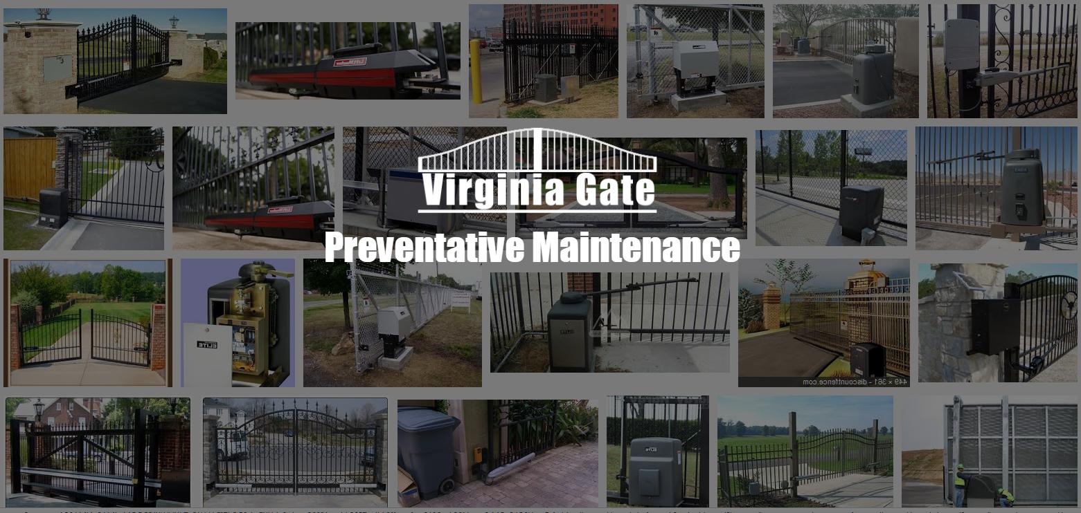 Virginia Gate Preventative Maintenance