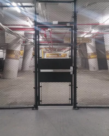 Commercial Interior Self Closing Pedestrian Security Gate