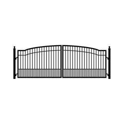 Cascade 14' Dual Steel Driveway Gate