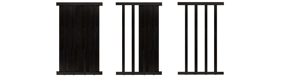 Privacy Slats For Aluminum Steel And Wrought Iron Fence 8 Section
