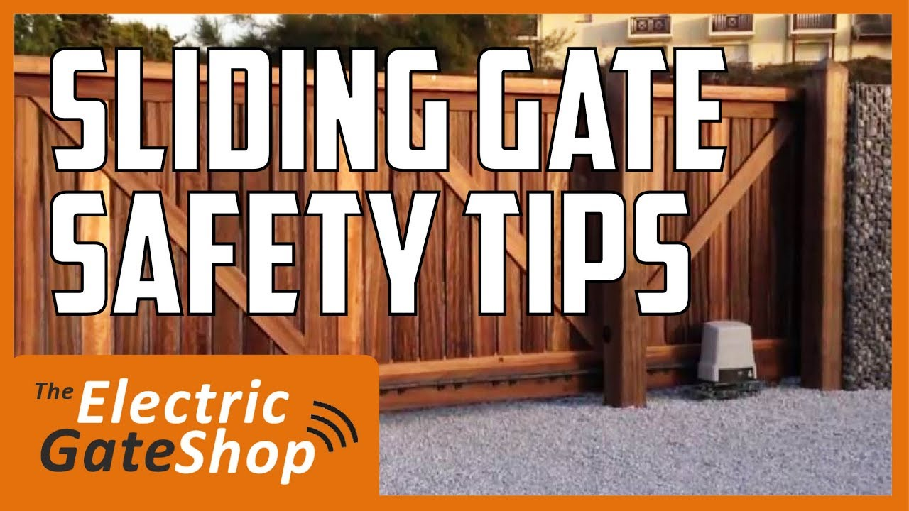 Installation-safety-considerations-when-fitting-automation-to-an-electric-sliding-gate