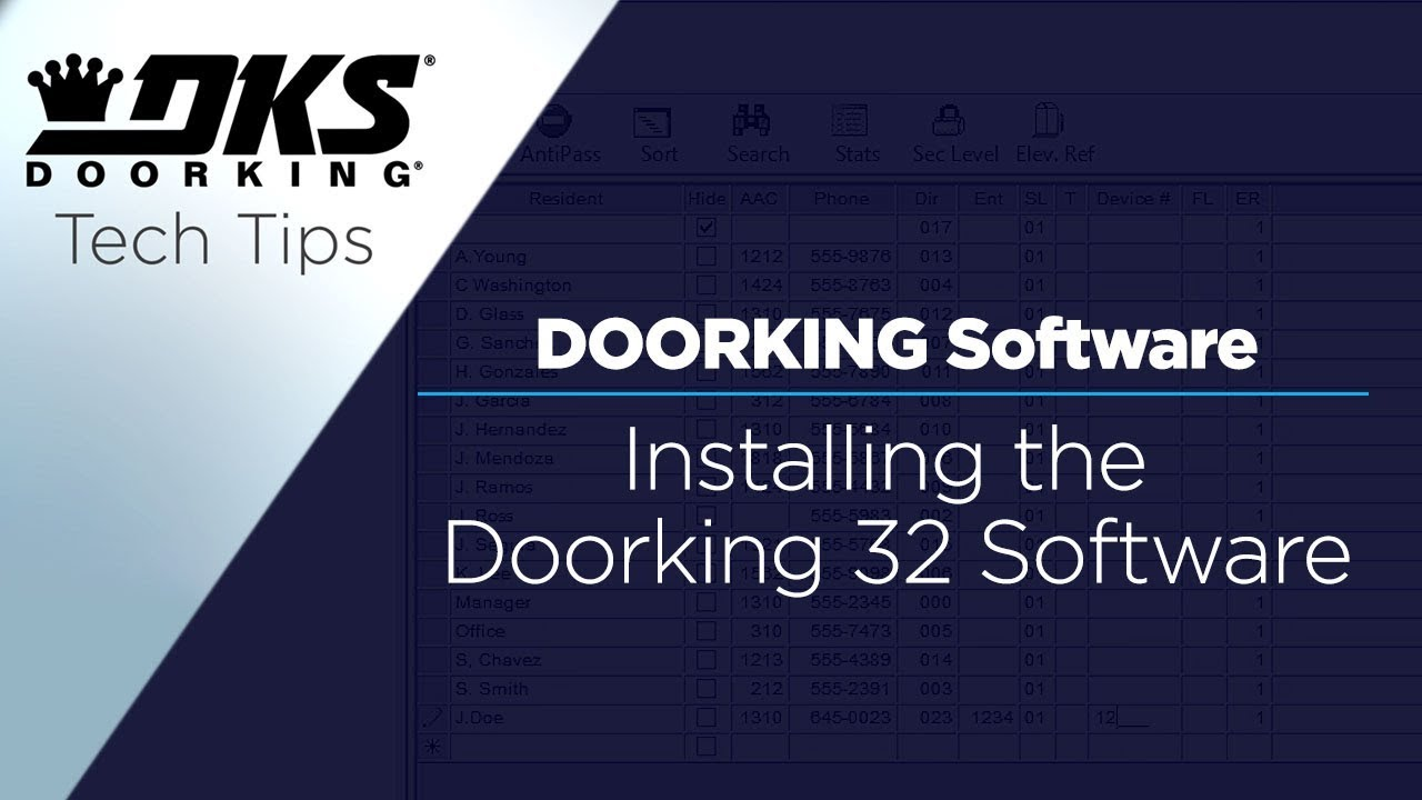 DKS-Tech-Tips-DoorKing-32-Remote-Account-Manager-Software-Installing-the-Software