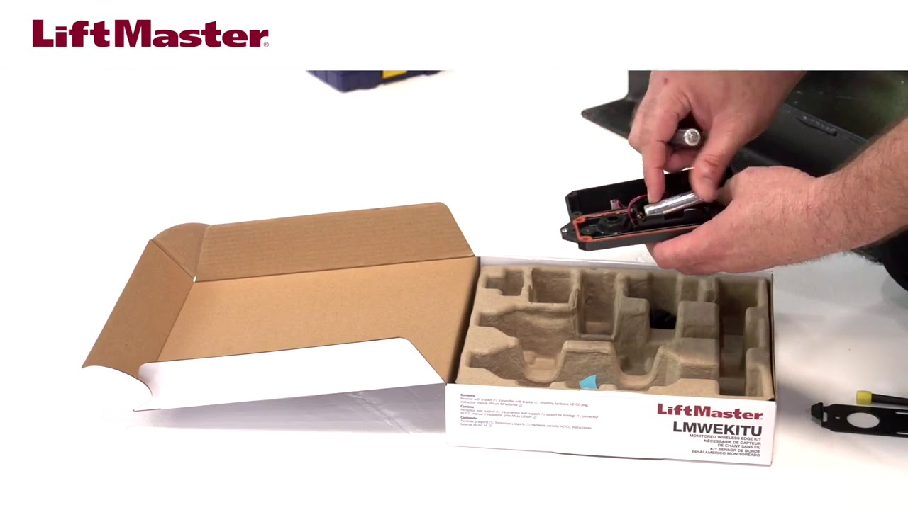 LiftMaster-How-to-Install-the-LMWEKITU-with-an-Edge-Sensor-on-a-Liftmaster-Gate