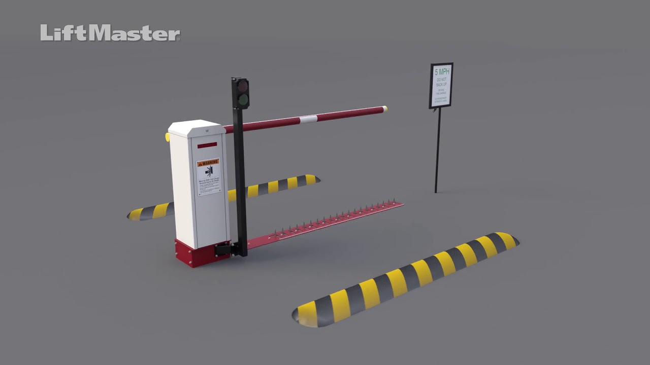 LiftMaster-How-to-Install-the-LiftMaster-Motorized-Traffic-Control-System