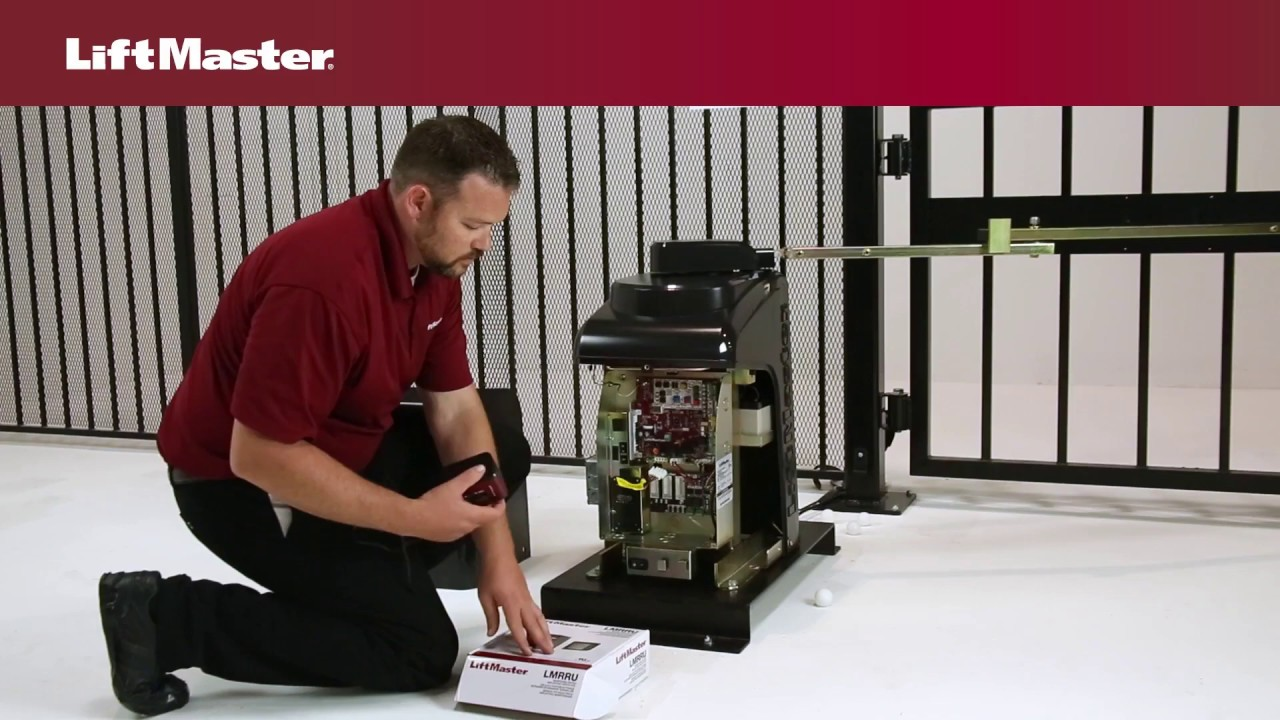 LiftMaster-How-to-Wire-Photoelectric-Sensors-to-a-LiftMaster-Gate-Operator