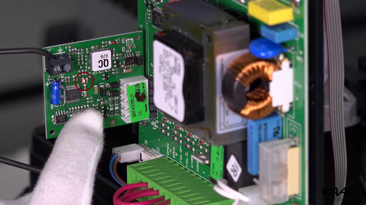FAAC-740D-Memorizzazione-radiocomando-SLH