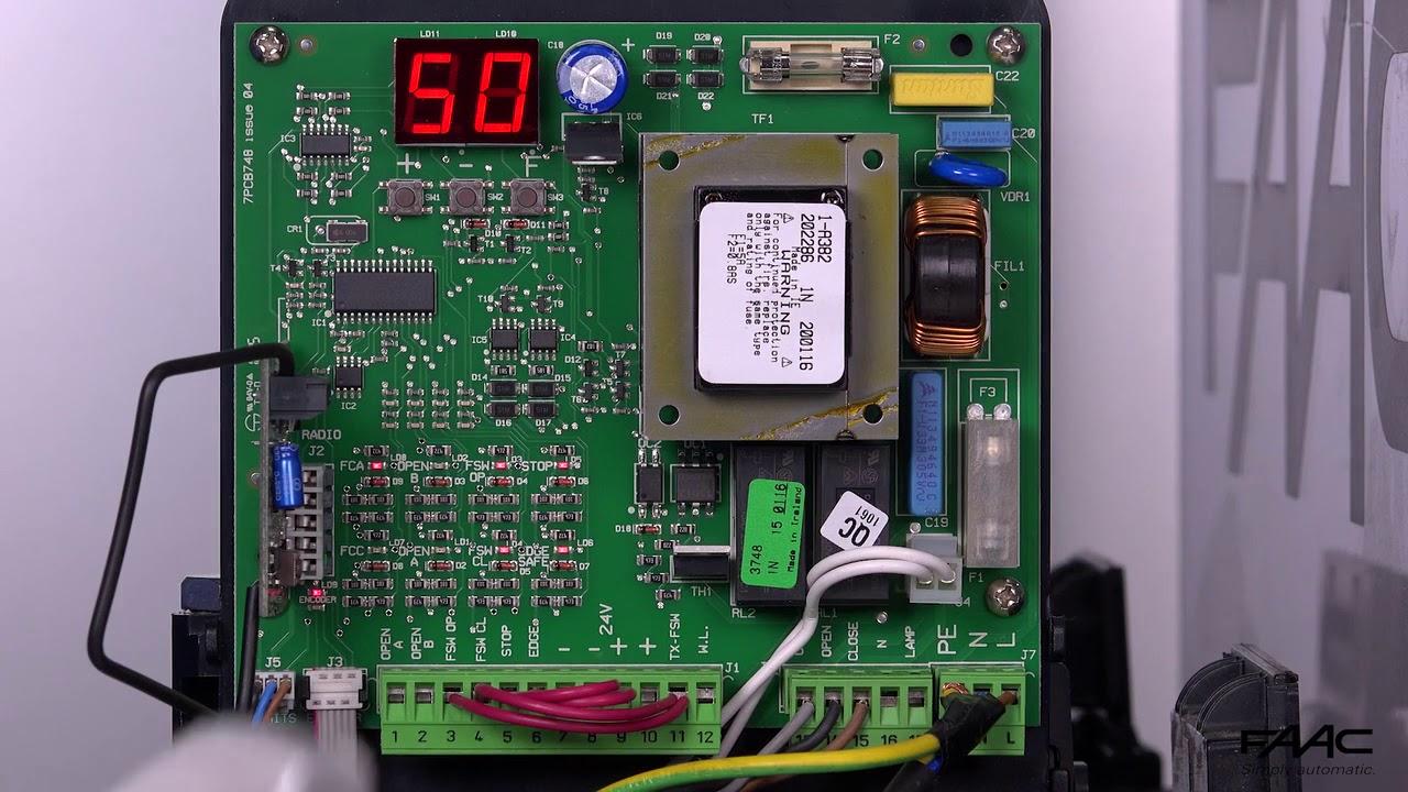 FAAC-740D-Programmazione-Secondo-Livello