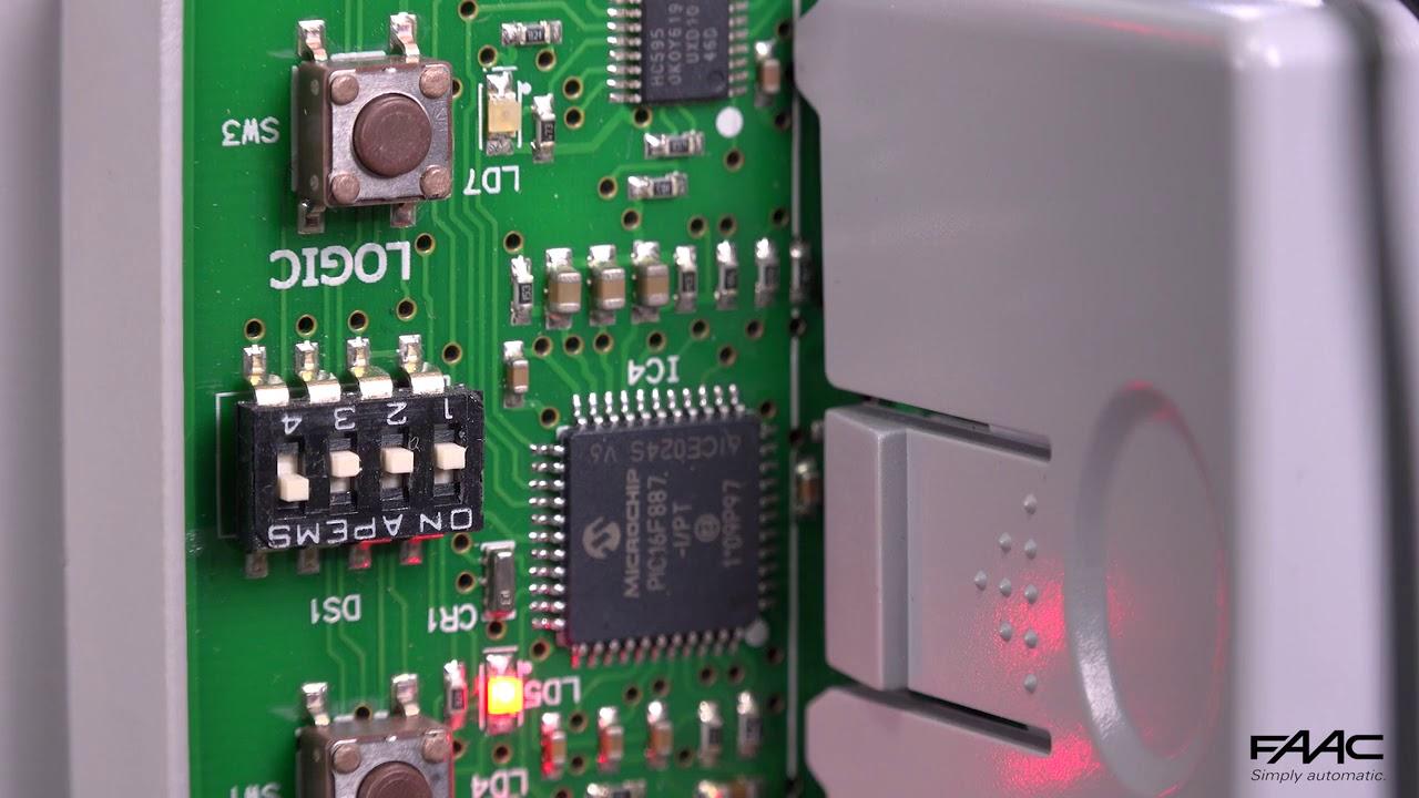 FAAC-E024S-Programmazione-Dip-Switch