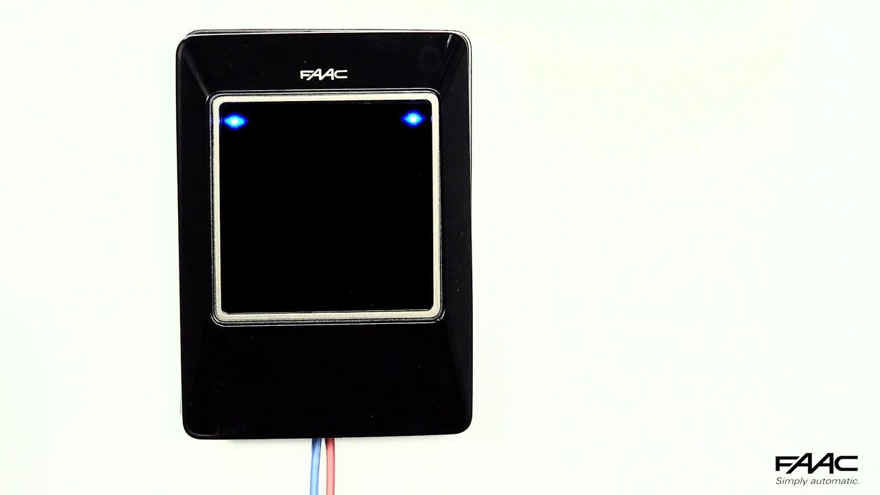 FAAC-XTR-B-Alimentazione-controllo-led