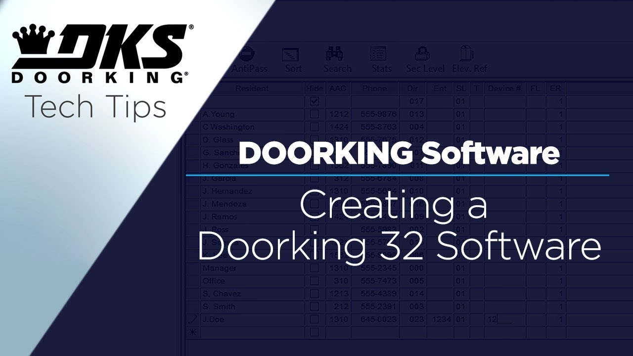 vbp-2877-DKS-Tech-Tips-DoorKing-32-Remote-Account-Manager-Software-Creating-A-Security-Level-804-299-4472