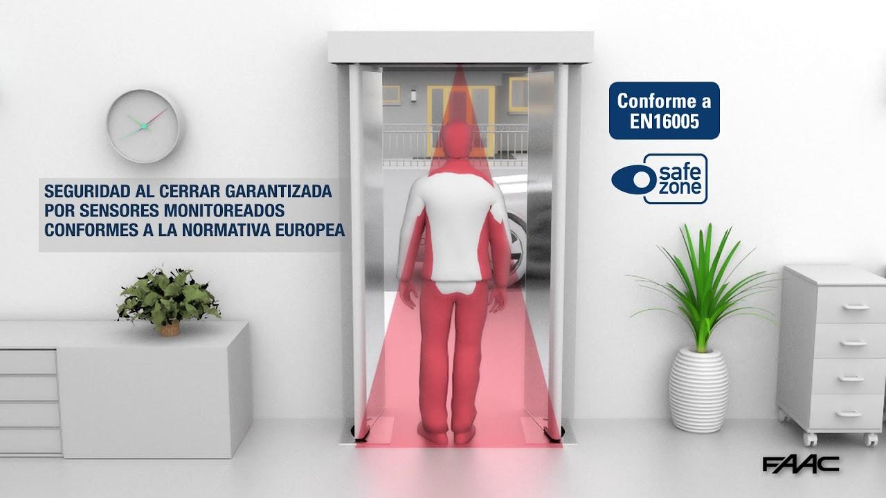 Puerta-automtica-rototraslante-FAAC-GBF-1500-1600-Versin-en-espaol
