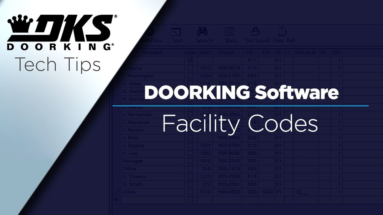 DKS-Tech-Tips-DoorKing-32-Remote-Account-Manager-Software-Locating-and-Enabling-Facility-Codes