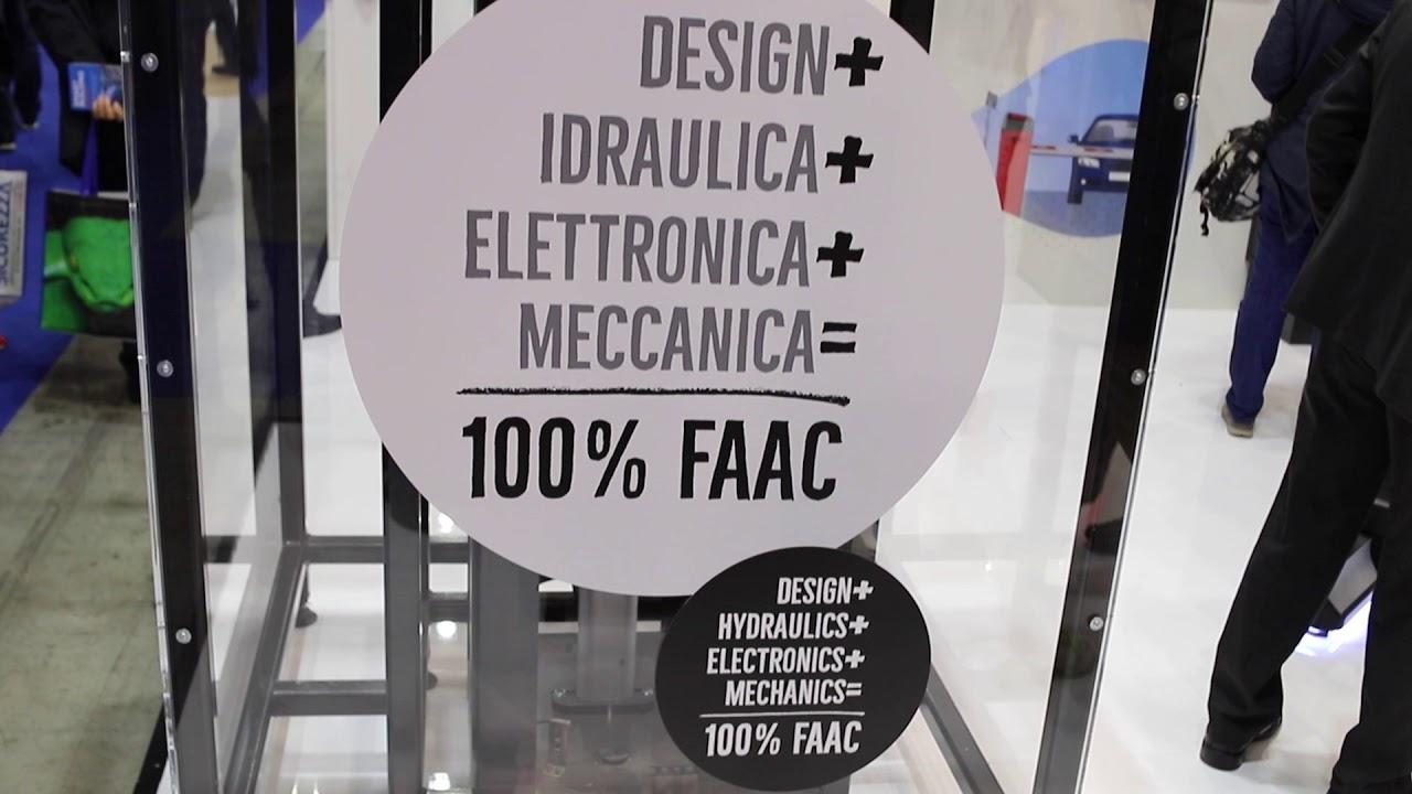 FAAC-Fiera-Sicurezza-2019-Milano-Rho