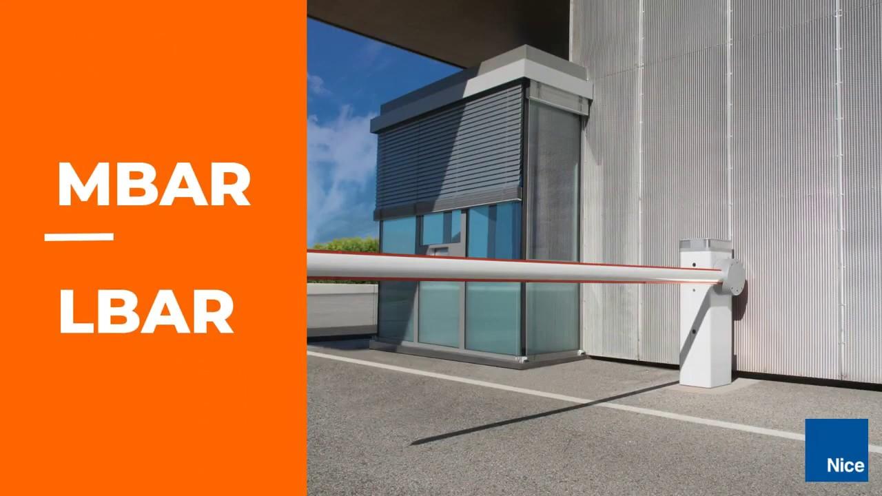 Nice-MBARLBAR-Electromechanical-Traffic-Control-Gate
