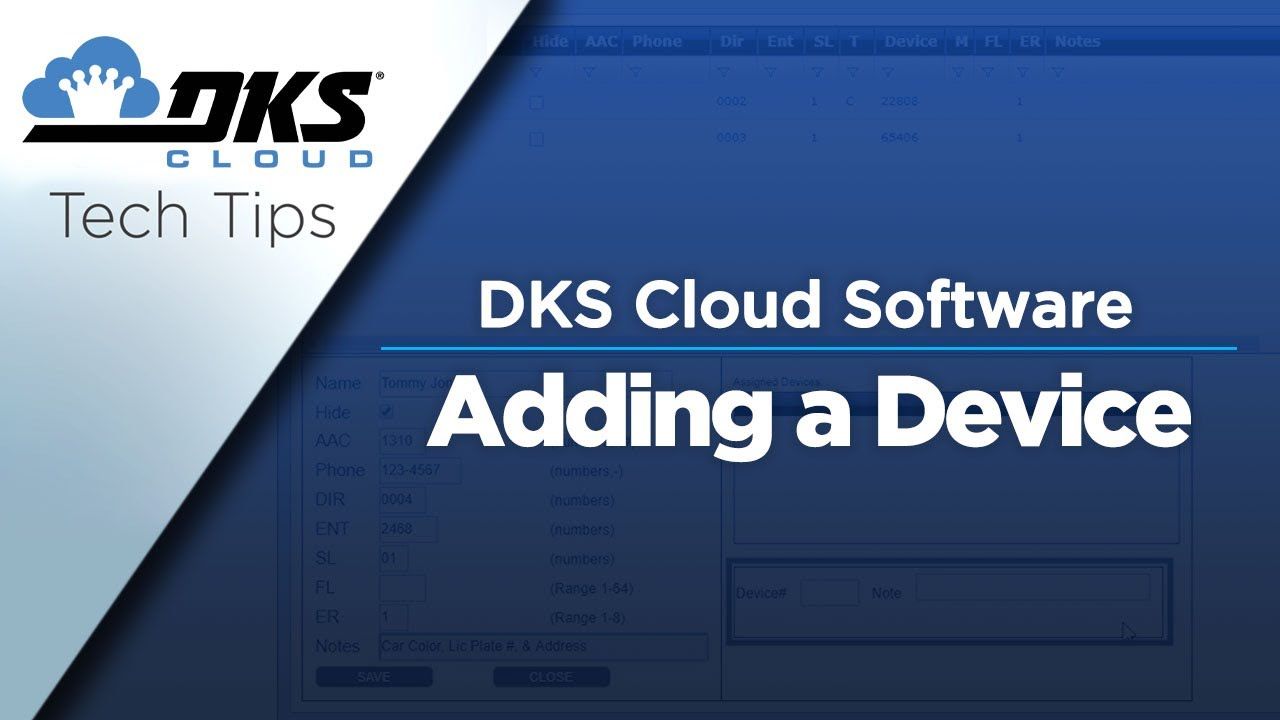DKS-Tech-Tips-DoorKing-Cloud-Entry-System-Management-Software-Adding-a-Device-to-the-DKS-Cloud