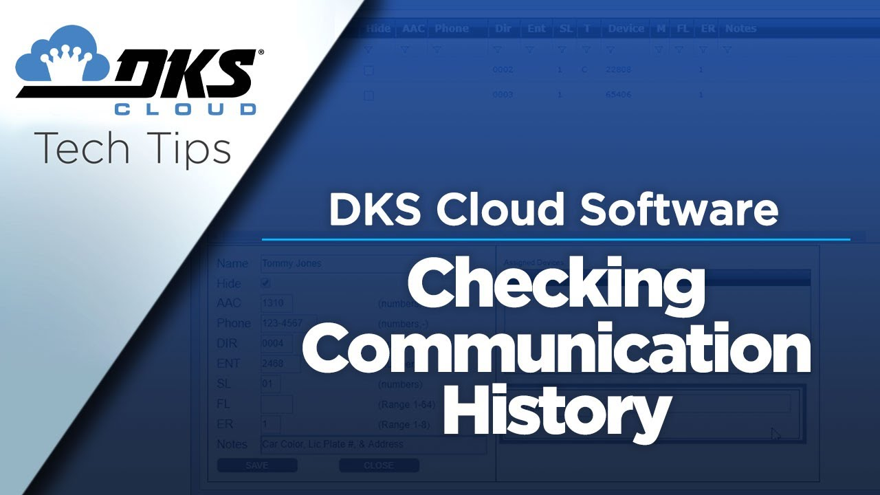 DKS-Tech-Tips-DoorKing-Cloud-Entry-System-Management-Software-Checking-Communication-History