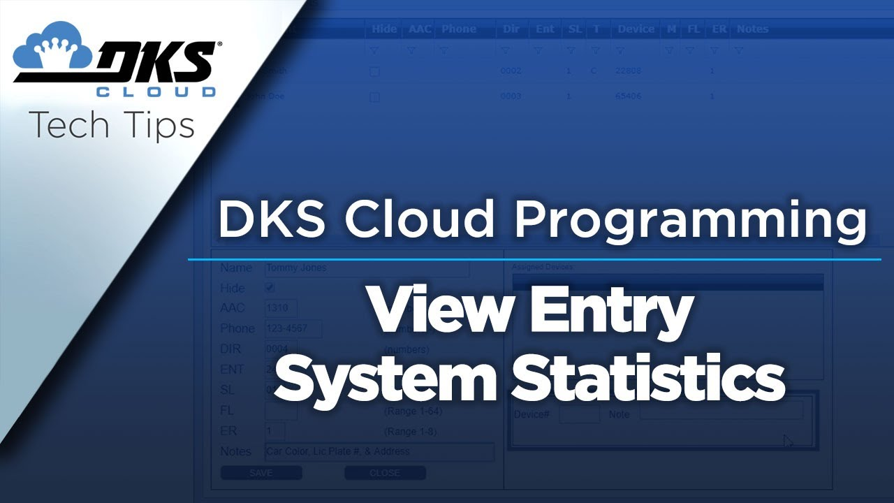 DKS-Tech-Tips-DoorKing-Cloud-Entry-System-Management-View-Entry-System-Statistics